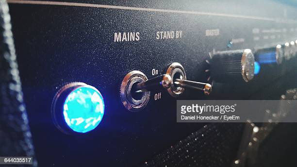 Close-Up Of Amplifier