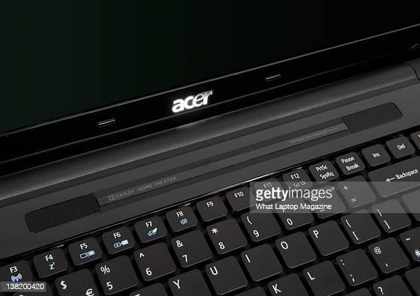 Closeup of an Acer Aspire 5553G laptop Bath April 26 2011