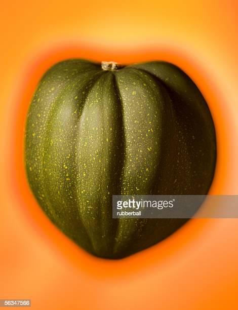 Close-up of an acorn squash