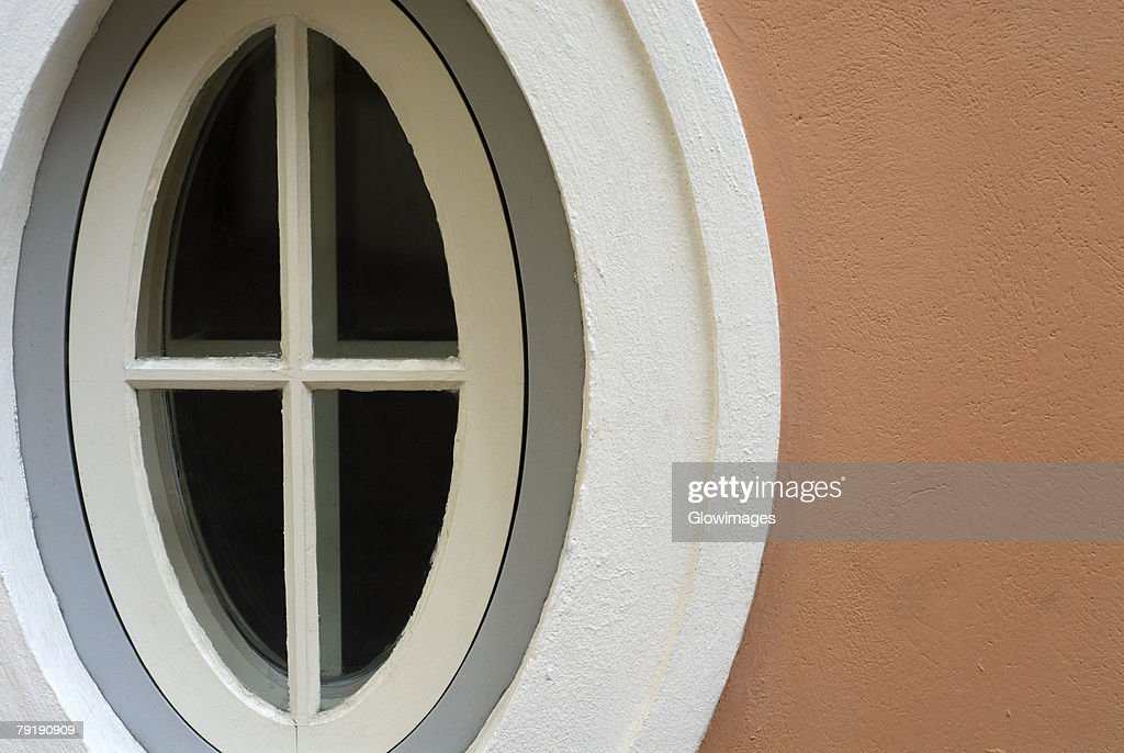 Close-up of an air duct on a wall : Stock Photo