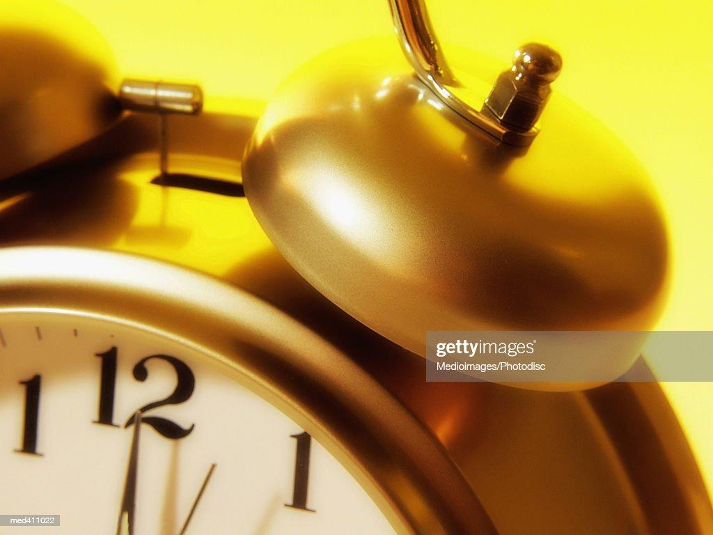 Close-up of an alarm clock : Stock Photo