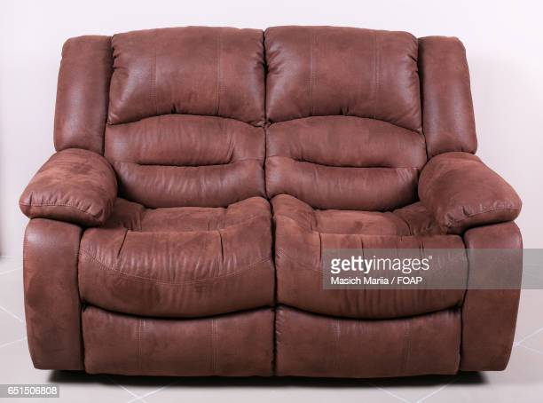Close-up of an empty sofa