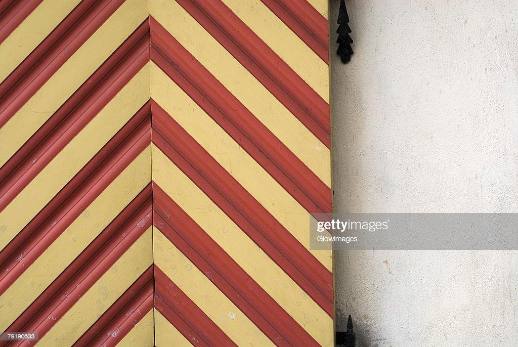 Close-up of an open door : Foto de stock