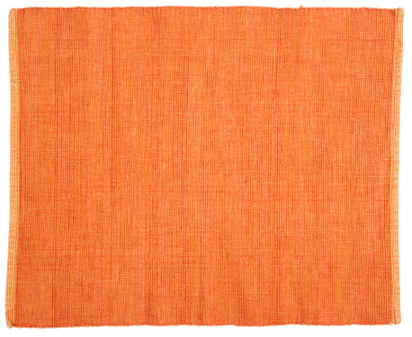 Close-up of an orange fabric background 187980560