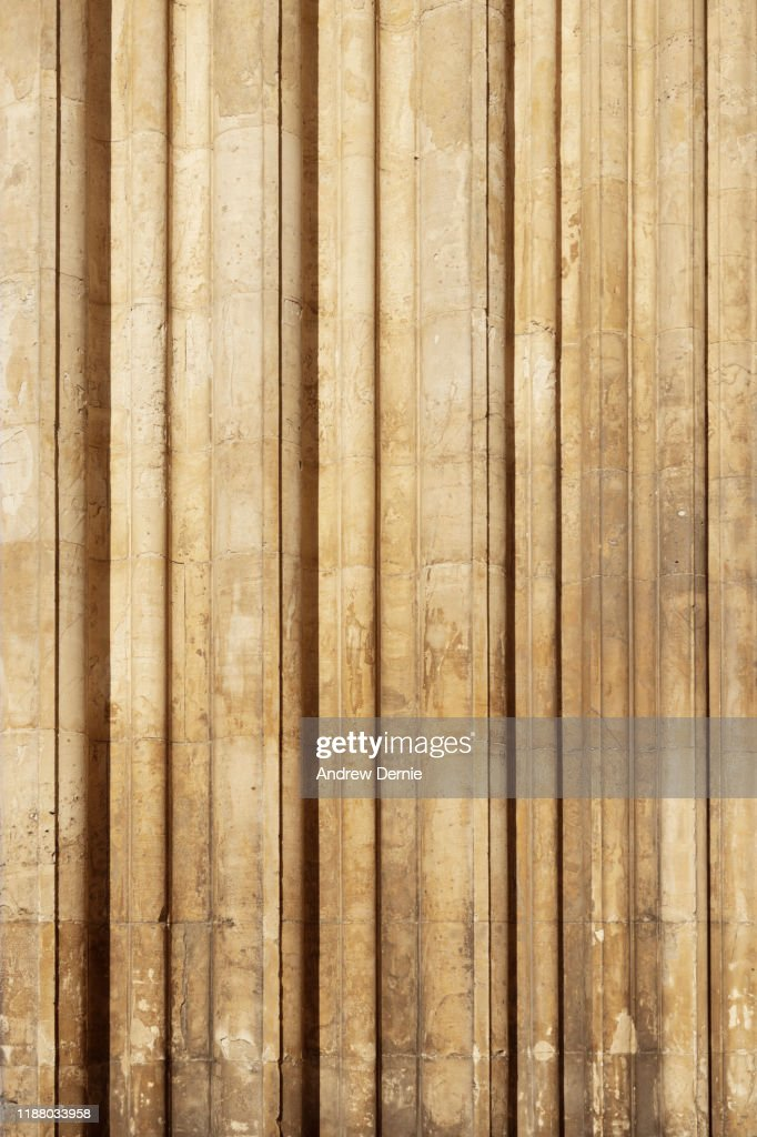 Close-Up Of Architectural Column : Stock Photo
