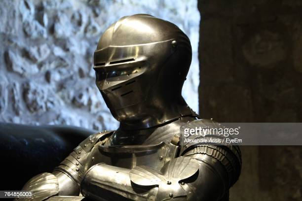 close-up of armor suit - assis ストックフォトと画像