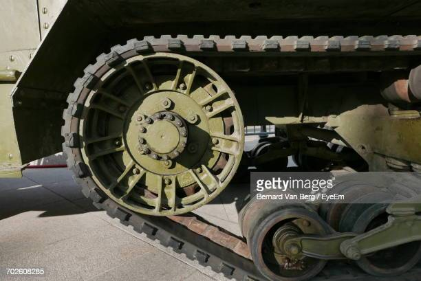 Close-Up Of Armored Tank
