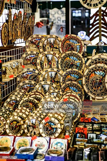 close-up of artifacts for sale - bohemia czech republic stock pictures, royalty-free photos & images