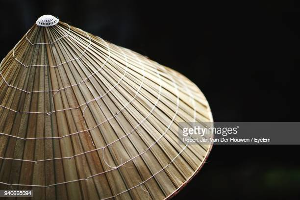 Close-Up Of Asian Style Conical Hat