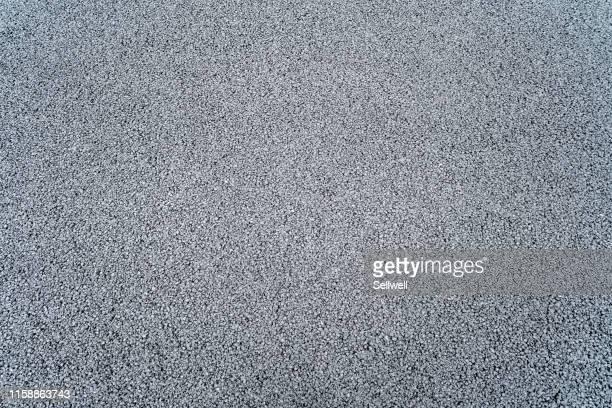 close-up of asphalt highway - macadam photos et images de collection