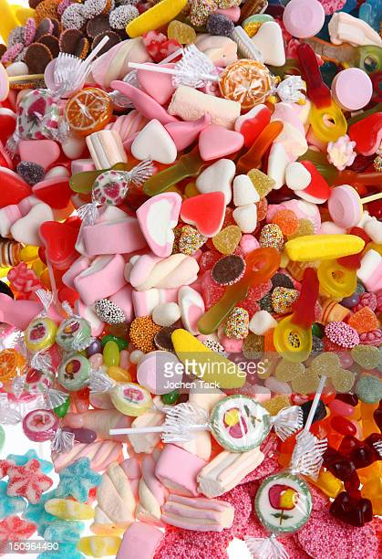 Close-up of assorted candies