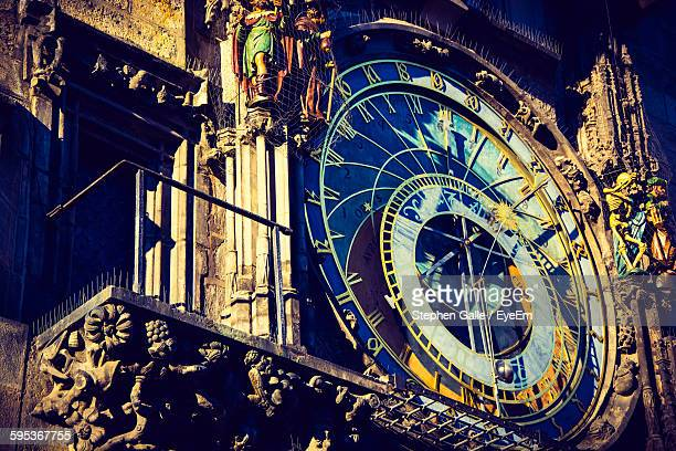 Close-Up Of Astronomical Clock