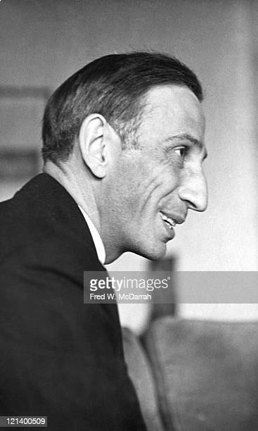 Closeup of Austrian philosopher and anarchist social critic Ivan Illich 1926 2002 New York New York February 21 1968