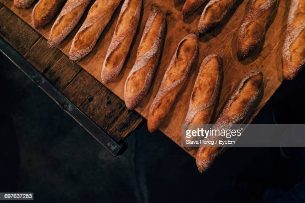 Close-Up Of Baguettes