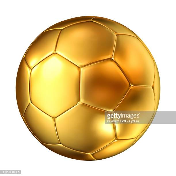 close-up of ball against white background - spielball stock-fotos und bilder