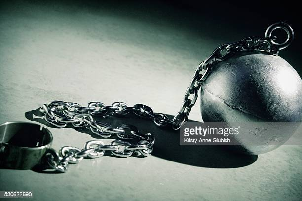 Close-up of Ball and Chain