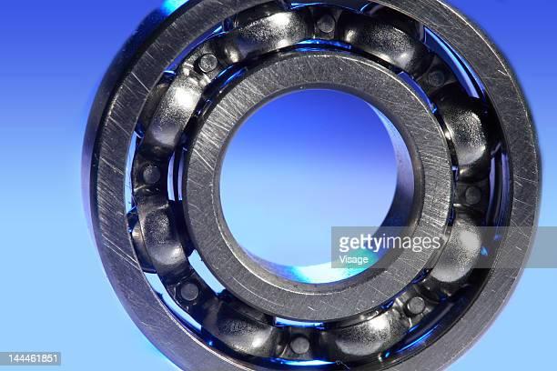 Close-up of ball bearing