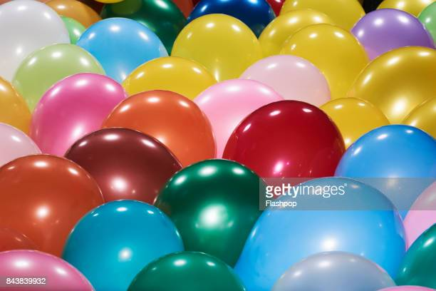 close-up of balloons - balloon stock pictures, royalty-free photos & images