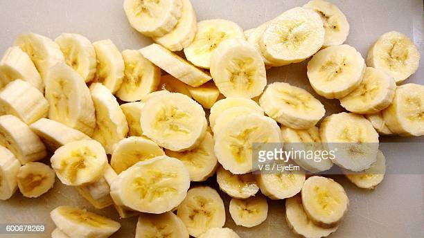 Close-Up Of Banana Slices