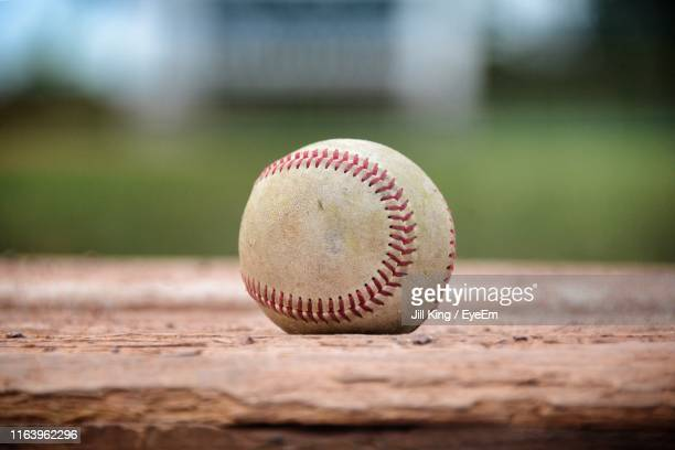 close-up of baseball - baseball stock pictures, royalty-free photos & images