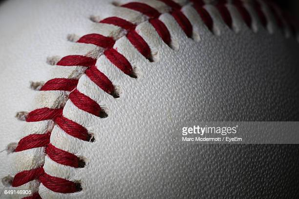 close-up of baseball - baseball sport stock pictures, royalty-free photos & images