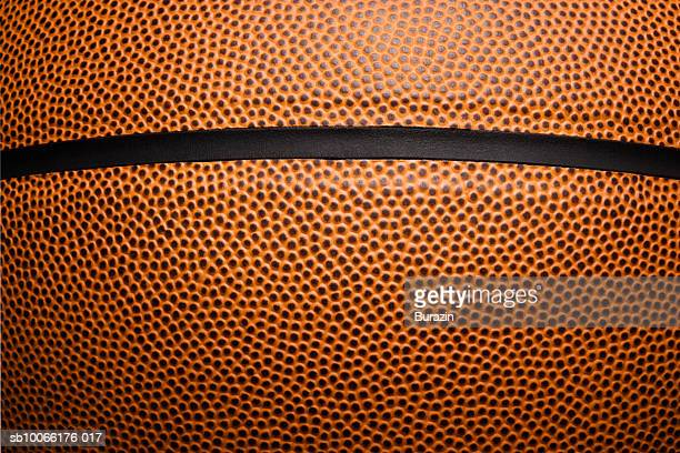 Close-up of basketball