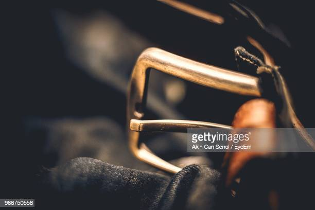 close-up of belt on jeans - leather belt stock pictures, royalty-free photos & images