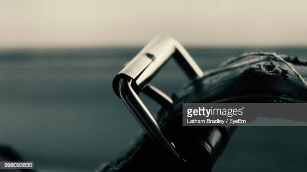 close-up of belt - silver belt stock pictures, royalty-free photos & images