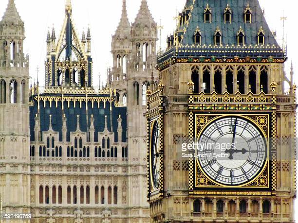 close-up of big ben - big ben stockfoto's en -beelden