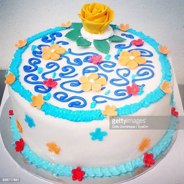 Square Birthday Cakes Stock Photos And Pictures Getty Images