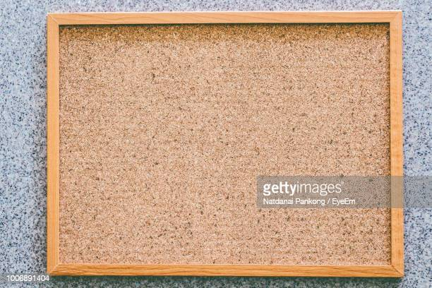 Close-Up Of Blank Wooden Frame