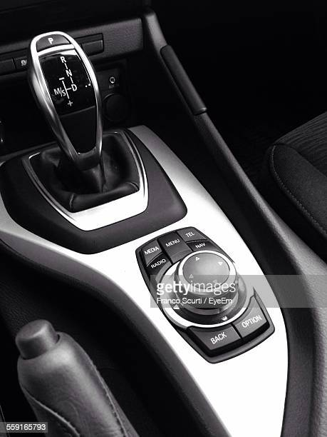 Close-Up Of Bmw Gearshift