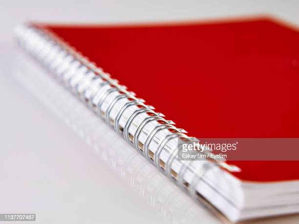 Close-Up Of Book On White Background