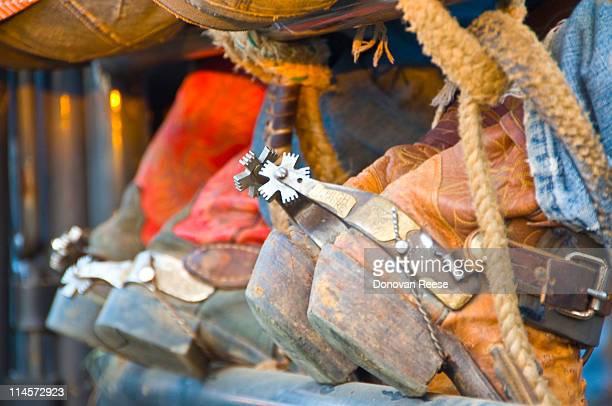 Closeup of Boots & Spurs