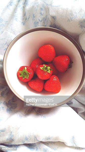 close-up of bowl of strawberries - mcconnell stock pictures, royalty-free photos & images
