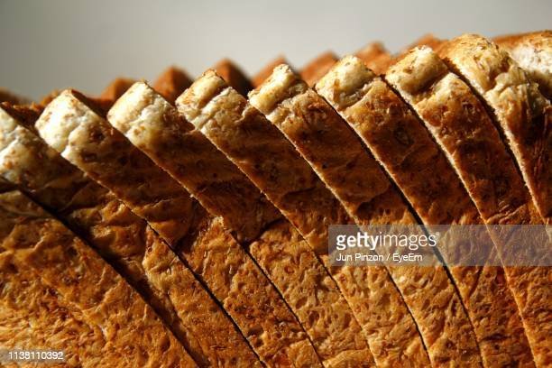 close-up of bread slices - bread stock pictures, royalty-free photos & images