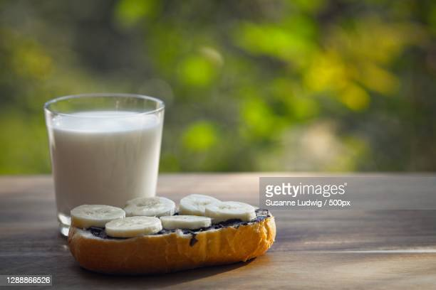 close-up of breakfast on table,germany - susanne ludwig stock pictures, royalty-free photos & images