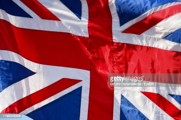 close-up of british flag - british flag stock pictures, royalty-free photos & images