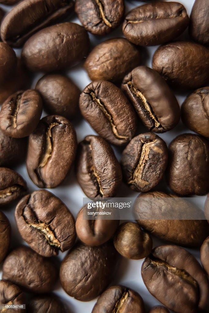 closeup of brown coffee background : Bildbanksbilder
