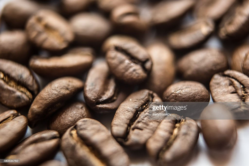 closeup of brown coffee background : Stock Photo