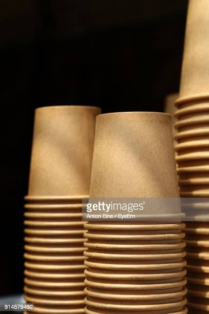 Close-Up Of Brown Paper Coffee Cup