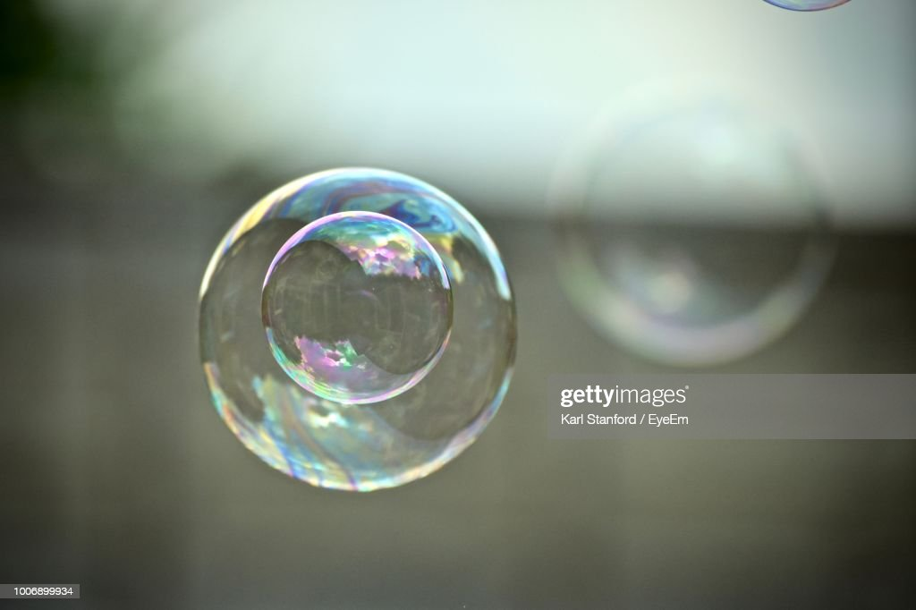 Close-Up Of Bubbles : Stock Photo