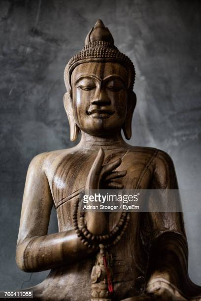 Close-Up Of Buddha Statue