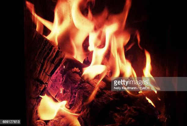 close-up of burning wood - warming up stock pictures, royalty-free photos & images