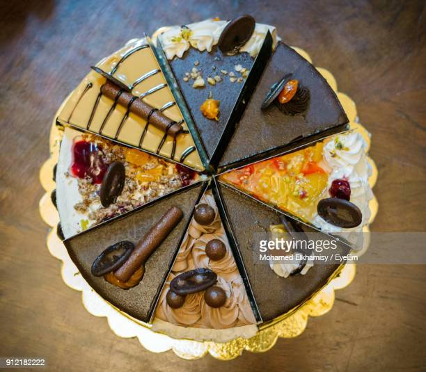 close-up of cake on table - chocolate cake above stock pictures, royalty-free photos & images