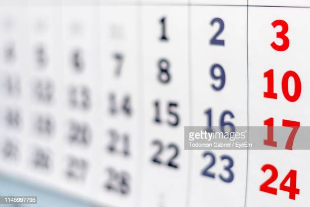 close-up of calendar - 2019 calendar background stock pictures, royalty-free photos & images