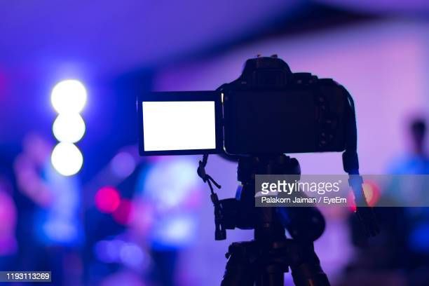 close-up of camera - television camera stock pictures, royalty-free photos & images