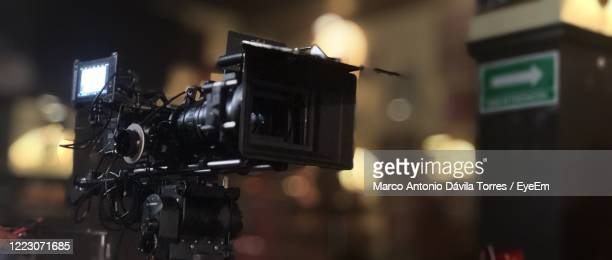 close-up of camera - recording studio stock pictures, royalty-free photos & images