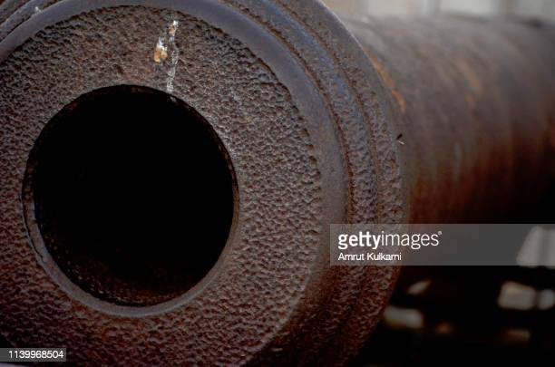 closeup of canon - cannon stock pictures, royalty-free photos & images