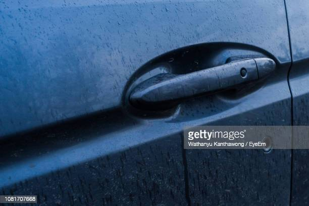close-up of car door - handle stock pictures, royalty-free photos & images